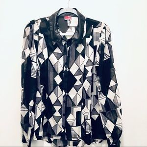 Tops - Chiffon Long Sleeve Blouse